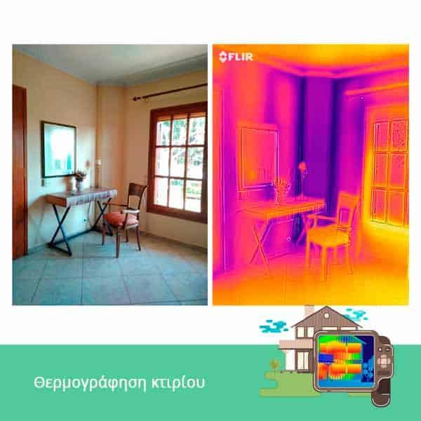 θερμογράφηση energycert